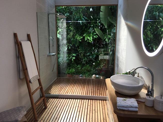 Jardín vertical para rodaje